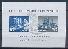 Briefmarken der DDR (1949-1990) als Einzelmarke mit Sonderstempel