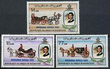 Mauritania 1982 Royal Baby Birth MNH Set #A90492
