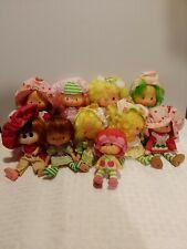 New ListingLot Of 10 Vintage 1980s Strawberry Shortcake Dolls