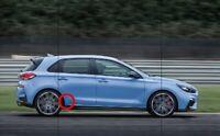 Film protector pintura lateral Stone guard Hyundai i30 i30n 5 puertas MK3
