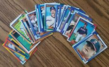 1990 Topps California Angels Team Set with Traded (32 cards)