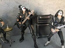 Kiss Alive Mcfarlane Toys Lote De Figuras De Acción GEN Peter Ace Paul Suelto banda Kiss!