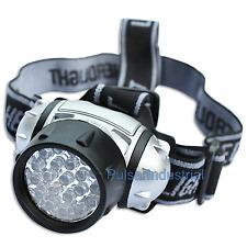 21 LED HEAD LAMP LIGHT HEADLIGHT TORCH CAMPING FLASHLIGHT SUPER BRIGHT LED NEW