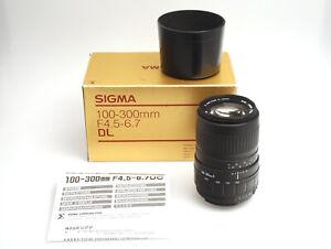 SIGMA Zoom 100-300mm F4.5-6.7 für Nikon AF D
