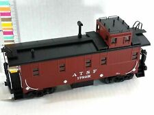 MTH 30-77335 Santa FE ATSF Offset Steel Caboose 1789r Near Scale Proportions