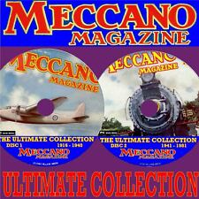MECCANO MAGAZINE ENTHUSIASTS COLLECTION 2 PC DVD SET EVERY EDITION 1916-1981 NEW