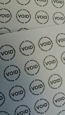 Void stickers, Screwhole cover, warranty, security 10mm diameter, 180x pieces