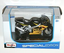 Maisto - SUZUKI GSX R600 (Yellow) - Motorbike Model Scale 1:18