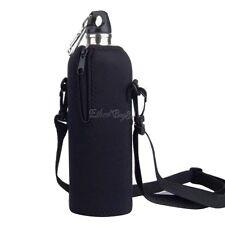 NEW 750ML Neoprene Water Bottle Carrier Insulated Cover Bag Holder Strap Travel