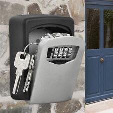 Cerradura de seguridad en Pared Para Caja Fuerte de llaves Combinación 4 Dígitos