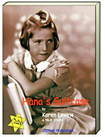 Hana's Suitcase A True Story by Karen Levine (Paperback) FREE shipping $35