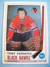 1992-93 OPC Anniversary Series Reprint # 2 of a 1969-70 OPC # 138 Tony Esposito!