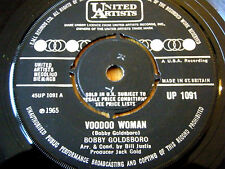 "BOBBY GOLDSBORO - VOODOO WOMAN  7"" VINYL"