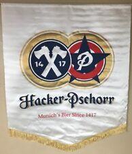 Hacker-Pschorr Beer Large Banner with Fringe