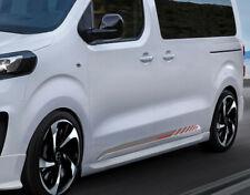 Original Irmscher Opel Vivaro C Zafira Life Seitenschwellersatz L2 + L3