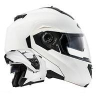 Montreal Klapphelm Doppelvisier System Weiß neuste Sicherheitsnorm ECE2205