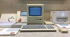 Apple Macintosh 128K Model M0001 1984~ORIGINAL 128K~WORKING~SIGNATURES~RARE