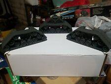 GI JOE ARAH Mobile Command Center MCC parts, 2 front & 1 rear tread tracks