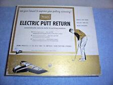 Vintage 1967 Sears Electric Putt Return Model 82942 With Original Box