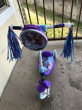 Disney Frozen Huffy Wheel Scooter Blue Excellent Condition