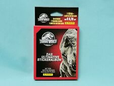 Panini Jurassic World Sticker 2020 1 x Blister / 7 Tüten + Limited Edition