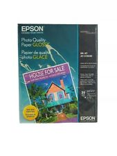 Epson photo quality paper glossy NEW