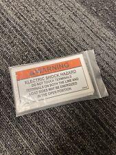 Solar Photovoltaic Label - Warning Electric Shock Hazard -20 Pack