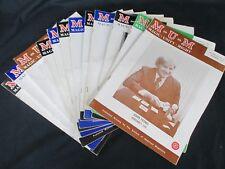 12 M-U-M Magic Unity Might Magazines Jan-Dec 1976 Volume 65-66 H252