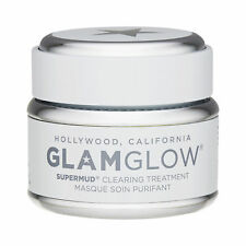 GlamGlow Supermud Clearing Treatment 50g Deep Cleansing Mask Facial Skincare