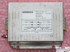 Siemens Netzfilter  Typ: B84143-B16-R  440/250V 3x16A