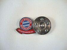 """Pin Meisterschale """"Bayern Deutscher Meister 2014"""" DFL FC Bayern München Neu"""