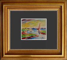 Wandbild-Im Louvre Paris Thea Schleusner 1879-1964-Hallig Langneß/Nordsee 1921 x