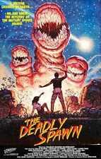 Deadly Spawn Poster 01 A2 Box Canvas Print