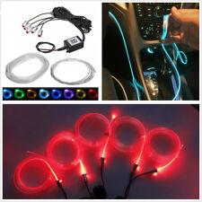 Waterproof 5in1 12V RGB 5050LED Car Interior EL Neon Light Strip Decoration Lamp