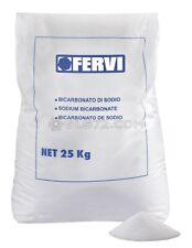 25 KG BICARBONATE DE SODIUM SABLEUSE SABLAGE GRAIN 50 ÷ 70 FERVI 0310B