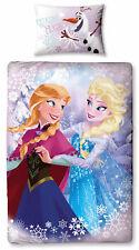 Disney Frozen Elsa and Anna Single Duvet Cover Set
