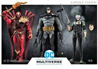 """DC Multiverse White Knight Comic McFarlane 7""""- BATMAN - JOKER - AZRAEL - PRESALE"""