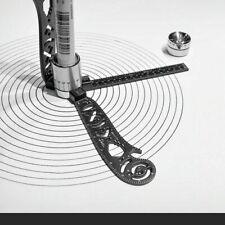Magnet multi-function drawing ruler compass creative pattern measuring kit
