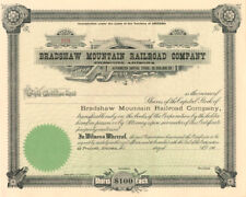 Bradshaw Mountain Railroad Company