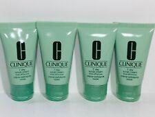 4pc CLINIQUE 7 Day Scrub Cream Cleanser 1fl.oz each (Total 4oz) Exp.2021
