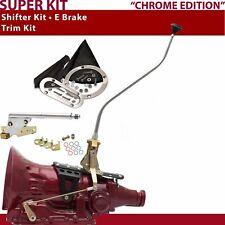 TH400 Shifter Kit 23 Swan E Brake Trim Kit For DE8E4 fits lokar trans auto zl1 p