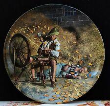"""Wandteller Grimms Märchen """" Rumpelstilzchen """" von Charles Gehm !!! Nr. 2"""
