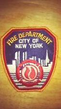 FDNY NYC EMS FIRE DEPARTMENT PATCH