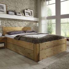 Bettgestelle ohne Matratze aus Massivholz zum Zusammenbauen 160cm x 200cm