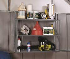 Arrow Regal-Set SS900 für Gerätehaus, Geräteschuppen, mit 3 Böden 336109