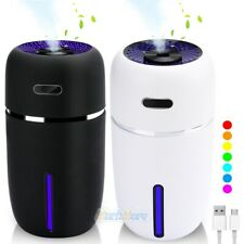 Quiet 7 Led Essential Oil Humidifier Aroma Air Aromatherapy Diffuser Cool Mist