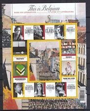 Belgien 2009 postfrisch Kleinbogen MiNr. 4016-4025 Literatur