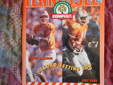 1996 TENNESSEE FOOTBALL MEDIA GUIDE for 1997 CITRUS BOWL PEYTON MANNING Vols AD