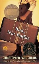 Bud, Not Buddy by Christopher Paul Curtis (1999, paperback)