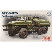 ICM 72713 - 1/72 ATZ-5-375 Soviet Ural Fuel Bowser, scale plastic model kit